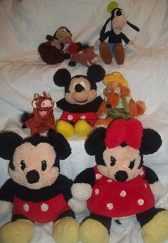 Stuffed Animal Wholesale Lot Plush Disney Mickey Minnie Mouse Goofy Pumba | eBay