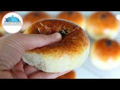 Knead in the Morning Cook - Cotton Soft Donut Recipe Like the Most Soft Sponge # - açma Ramadan Desserts, Köstliche Desserts, Delicious Desserts, Yummy Food, Soft Donut Recipe, Donut Recipes, Cooking Recipes, Dinner Rolls Easy, Flatbread Recipes
