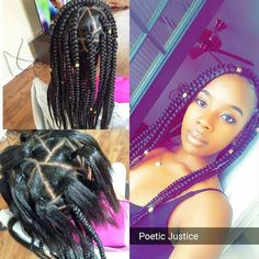 Crochet Braids Rubber Band Method : ... braiding on Pinterest Crochet braids, Goddess braids and Hair weaves