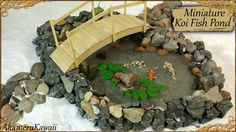 Hi guys! Today we're making this awsome miniature Koi fish pond :D You need a little bit of patience for this project, since it uses both glue and resin, whi...