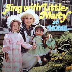 Another Crazy Vinyl Blog!: Sing with Little Marcy