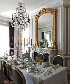 =22 French Country Decorating Ideas for Modern Dining Room Decor=