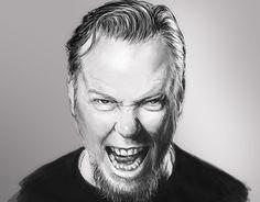 "Check out new work on my @Behance portfolio: ""Hetfield"" http://be.net/gallery/52011297/Hetfield"
