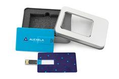 Alexela Group OÜ krediitkaardikujuline USB-mälupulk www. Usb, Group
