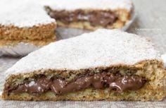 torta Nutella e nocciole