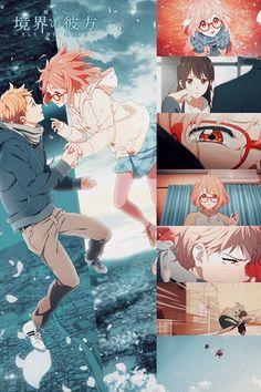 "shokugekis: ""Kyoukai no Kanata -I'll Be Here- Mirai-hen Trailer Kako-hen premiere's March 14 // Mirai-hen Premiere's April 25 """