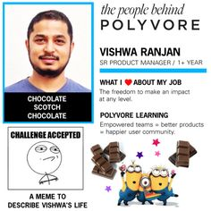 """""""Meet the Polyvore Team: Vishwa Ranjan"""" by polyvore ❤ liked on Polyvore"""