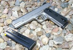 Taurus PT- 1911 9mmLoading that magazine is a pain! Get your Magazine speedloader today! http://www.amazon.com/shops/raeind
