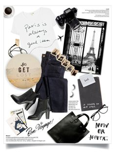 """""""get lost."""" by linds-rae on Polyvore featuring Trademark Fine Art, Sundry, J.Crew, SWEET MANGO, Shabby Chic, Rock 'N Rose, Louis Vuitton, Rimini, H&M and GET LOST"""