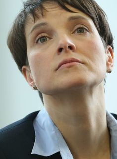 Frauke Petry. Germany Wakes Up to Politics Trump-Style as AfD Takes on Merkel | ^ https://de.pinterest.com/pin/524387950342918796/