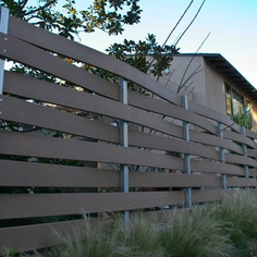 Modern Exterior Fencing Design Ideas, Pictures, Remodel, and Decor - page 16