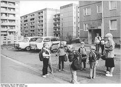 Cottbus, DDR October 1988
