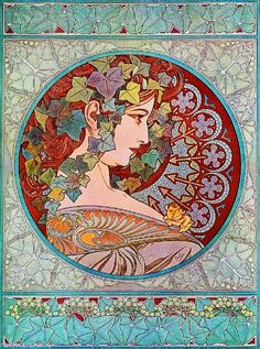 Beautiful Woman #4 Vintage French Nouveau France Poster Print Art Advertisement #ArtNouveau