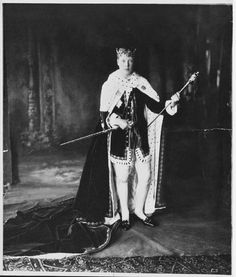 The future King Edward VIII invested as The Prince of Wales at Caernarfon Castle (1911)