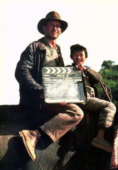 Just rewatched Temple of Doom. Honestly, I will never EVER tire of Indiana Jones. Favourite.