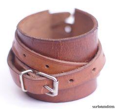 urbandon: leather cuff tutorial