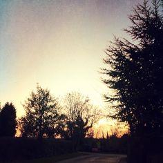 #Christmas Eve #sky #sunset #winter