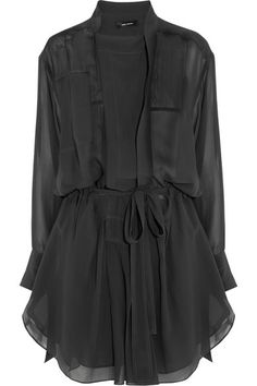 Isabel Marant | Silk Georgette Mini Dress | Net A Porter | 1080