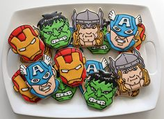 Avengers Cookies Platter | Flickr - Photo Sharing!