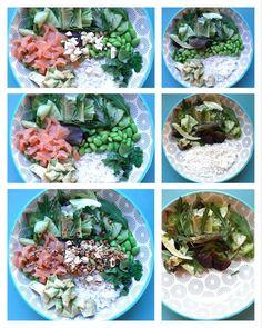 Hawaii, Rezept für Poke Bowl Edamame, Succulents, Plants, Fresh Coriander, Yummy Food, Succulent Plants, Plant, Planets