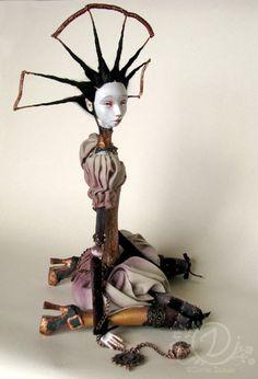 Gloria art doll by TirelessArtist. I love dolls but this is a little weird.