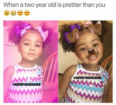 She's so adorable Afro, Beautiful Black Babies, Beautiful Children, Future Daughter, Future Baby, Lil Baby, Baby Kids, Cute Kids, Cute Babies