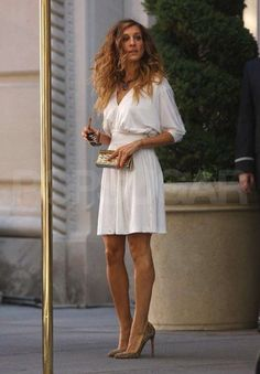 +carrie bradshaw style | Carrie Bradshaw style fashion style sex and the city