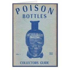 Poison Bottle Collector Book | Greeting Card 5 x 7 - Halloween happyhalloween festival party holiday