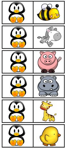 Dòmino de dibuixos English Activities, Activities For Kids, Math Bingo, School Clipart, Monthly Themes, Busy Bags, English Lessons, Family Games, Business For Kids