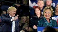 Primaires américaines : Trump et Clinton creusent leur avance