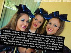 how i feel about cheering but coaching will help fulfill this passion I have!