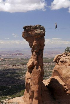 Extreme tightrope #Outdoors