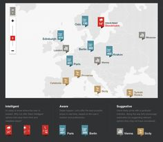 Air fare info visualization  Inspirational map-based interaction on: http://www.f-i.com/fi/airlines/