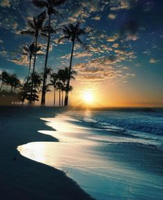 Sunset at the beach, Singapore! Sunset at the beach, Singapore! Strand Wallpaper, Beach Wallpaper, Beach Pictures, Nature Pictures, Beautiful Pictures, Beautiful Sunrise, Beautiful Beaches, Sunset Beach, Beach Sunsets