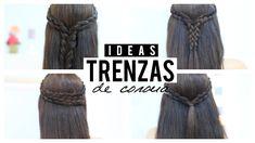 Mejores peinados para cada día, ideas de trenzas como corona