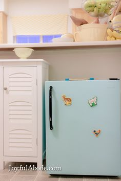 Fully functional Montessori toddler kitchen.- a tiny kitchen with everything they need!!!!