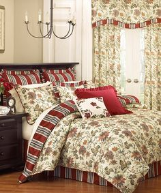 Take a look at this Ivory Felicite Comforter Set by Ellery Homestyles on #zulily today!