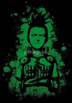 shikamaru grunge  Available to buy on… T-Shirts & Hoodies Cases & Skins Stickers Prints & Cards Home Decor Tote Bags #shikamaru #anime #manga #cool #best #naruto #ninja #clothing