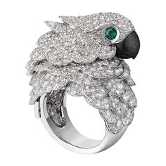 Cartier - Les heures fabuleuses-parrot watch and ring
