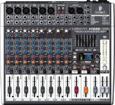 BEHRINGER Xenyx X1222 USB CON EFFETTI