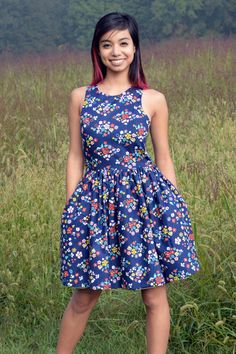 Kristina Dress in Blossom Love by Vaute Couture