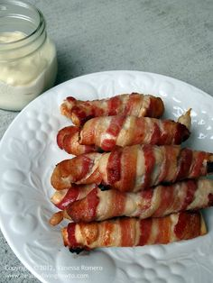"""Easy Recipe: Bacon Wrapped Chicken Breast with Macadamia Mayo-  """"Healthy Living how to """" great great blog and pinterest page!!"""