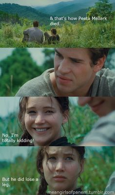 LOL Mean Girls + Hunger Games