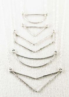 Kaihe necklace small silver arrow necklace by www.kealohajewelry.com