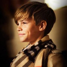 Romeo Beckham Stars In Burberry's New Campaign