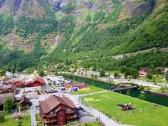 Flåm during Norway in a Nutshell tour