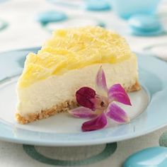How could this Heavenly Pina Colada Cheesecake not be delicious? The crust is made from crumbled cookies and coconut, making it an even tastier tropical dessert recipe.