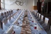 Svadby   SVADOBNÁ VÝZDOBA, NÁVLEKY NA STOLIČKY, Svadby, Výzdoby na Stužkové