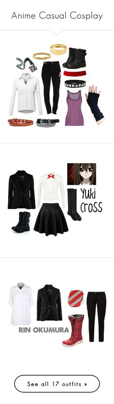 """Anime Casual Cosplay"" by breathe-think-dream ❤ liked on Polyvore featuring Lee, Dsquared2, maurices, Louise et Cie, Kenneth Cole, CasualCosplay, cosplay, kurama, kamisamakiss and Kamisama"