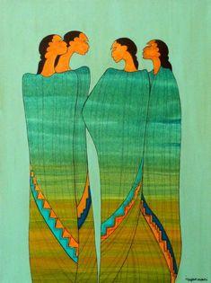 The Sisterhood - Maxine Noel paintings and art | Bearclaw Gallery Edmonton